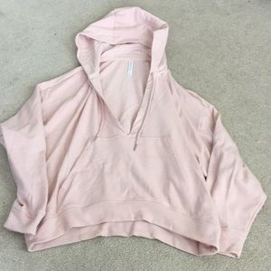 Fabletics cropped hoodie